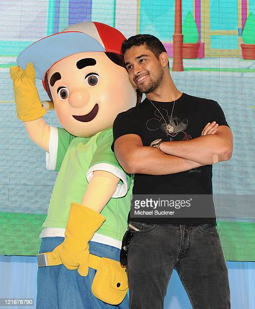 Actor Wilmer Valderamma attends Day 3 of Disney's D23 Expo 2011 at the Anaheim Convention Center on August 21 2011 in Anaheim California
