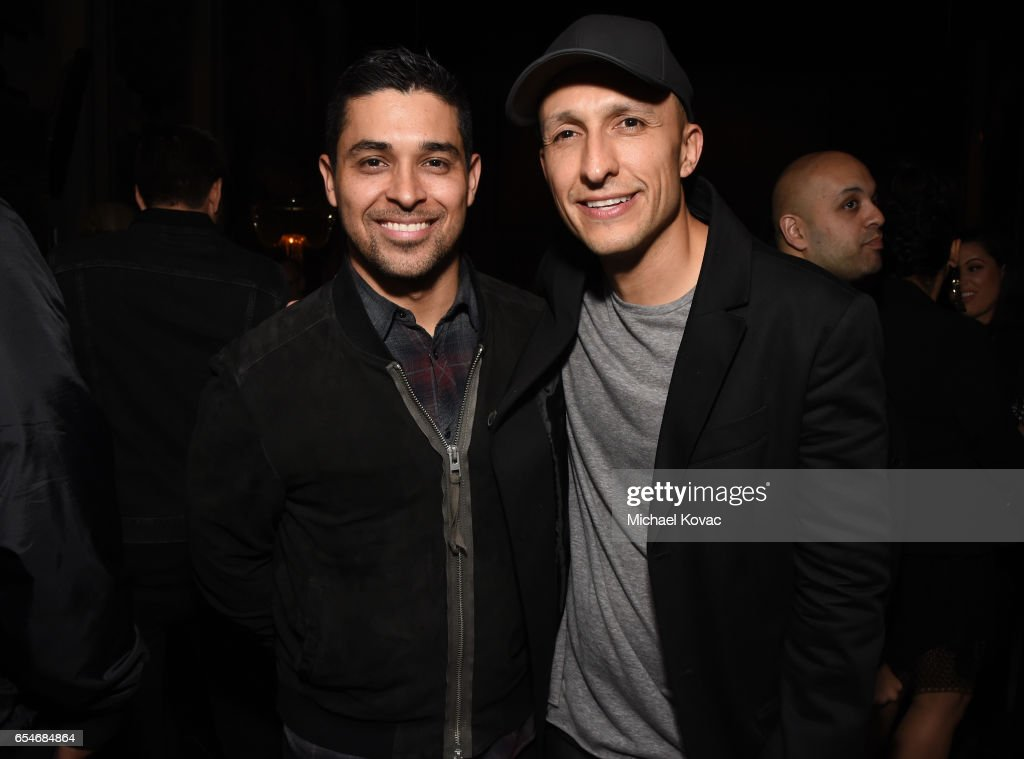 Actor Wilmer Valderrama (L) and DJ Vice attend day two of TAO, Beauty & Essex, Avenue and Luchini LA Grand Opening on March 17, 2017 in Los Angeles, California.