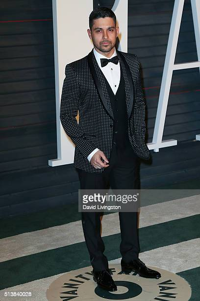 Actor Wilmer Valderrama arrives at the 2016 Vanity Fair Oscar Party Hosted by Graydon Carter at the Wallis Annenberg Center for the Performing Arts...