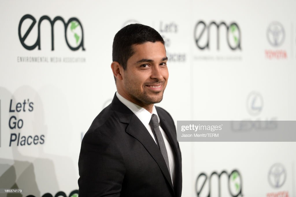 Actor Wilmer Valderrama arrives at the 23rd Annual Environmental Media Awards presented by Toyota and Lexus at Warner Bros. Studios on October 19, 2013 in Burbank, California.