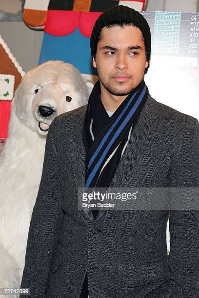 Actor Wilmer Valderrama attends a charity shopping spree for the children of Little Flower Children and Family Services of New York hosted by Warner...