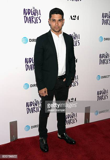 Actor Wilmer Valderrama attends A24/DIRECTV's 'The Adderall Diaires' Premiere at ArcLight Hollywood on April 12 2016 in Hollywood California