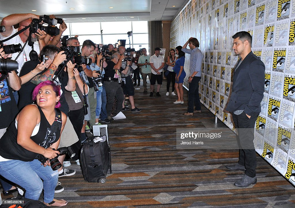 Comic-Con International 2016 - CBS Fan Favorites Press Line : News Photo