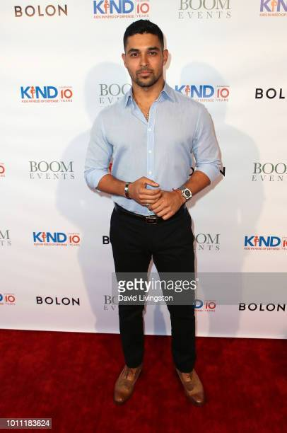 Actor Wilmer Valderrama attends Kind Los Angeles Coming Together for Children Alone at Helms Design Center on August 4 2018 in Culver City California