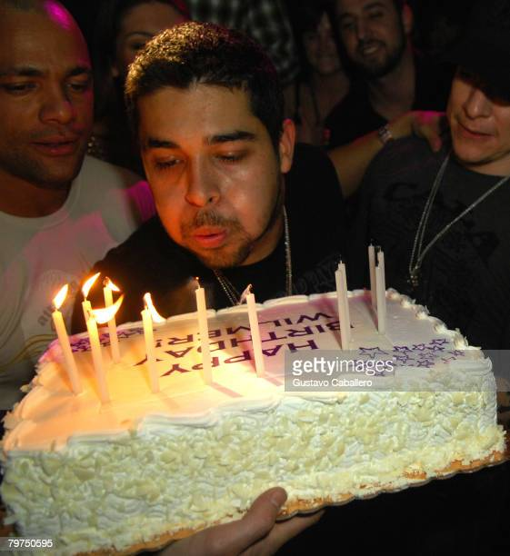 Actor Wilmer Valderrama attends Marquee for his 28th birthday party on February 7 2008 in New York City