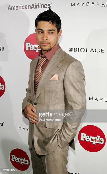 Actor Wilmer Valderrama attends People En Espanol's 4th Annual 50 Most Beautiful Gala at Capitale May 18 2005 in New York City