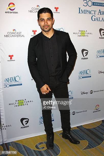 Actor Wilmer Valderrama attends the 19th Annual National Hispanic Media Coalition Impact Awards Gala at Regent Beverly Wilshire Hotel on February 26...