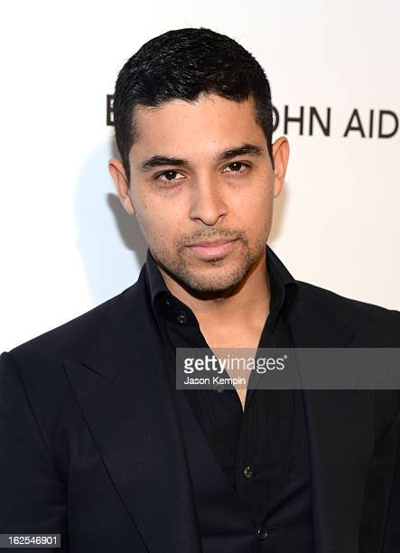 Actor Wilmer Valderrama attends the 21st Annual Elton John AIDS Foundation Academy Awards Viewing Party at West Hollywood Park on February 24 2013 in...