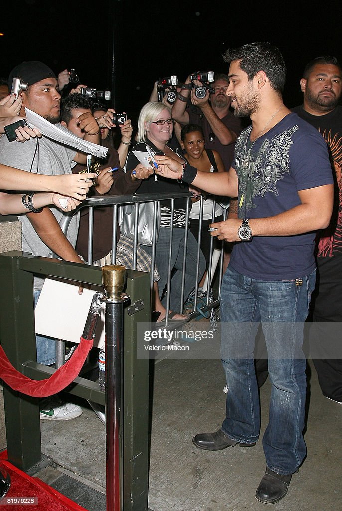 Actor Wilmer Valderrama attends the 2nd Annual Celebrity Bowling Night held by Matt Leinard on July 17, 2008 in Hollywood, California.