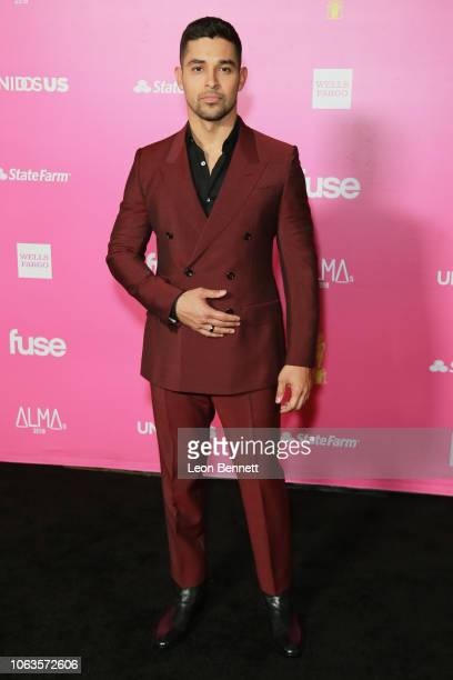 Actor Wilmer Valderrama attends The ALMAs 2018 Arrivals on November 04 2018 in Los Angeles California