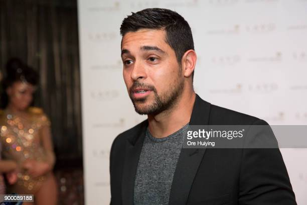 Actor Wilmer Valderrama attends the LAVO Singapore Grand Opening at Marina Bay Sands on December 31 2017 in Singapore