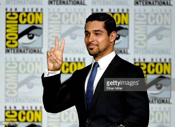 Actor Wilmer Valderrama attends the Minority Report panel during ComicCon International 2015 at the San Diego Convention Center on July 10 2015 in...