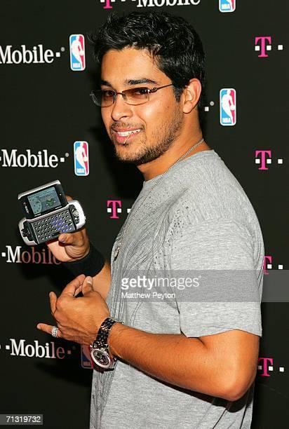 Actor Wilmer Valderrama attends the TMobile Basketball's Rising Stars Celebration at Tao Restaurant on June 28 2006 in New York City
