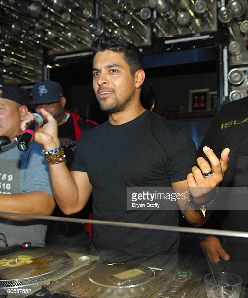 Actor Wilmer Valderrama celebrates his 33rd birthday at Hyde Bellagio at the Bellagio on February 2 2013 in Las Vegas Nevada