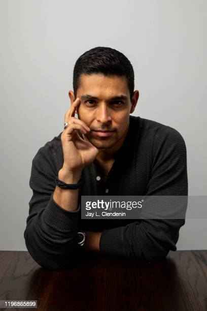 Actor Wilmer Valderrama from 'Blast Beat' is photographed in the LA Times Studio at the Sundance Film Festival on January 26 2020 in Park City Utah...