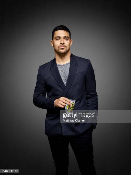 Actor Wilmer Valderrama from 'NCIS' is photographed for Entertainment Weekly Magazine on July 21 2016 at Comic Con in the Hard Rock Hotel in San...