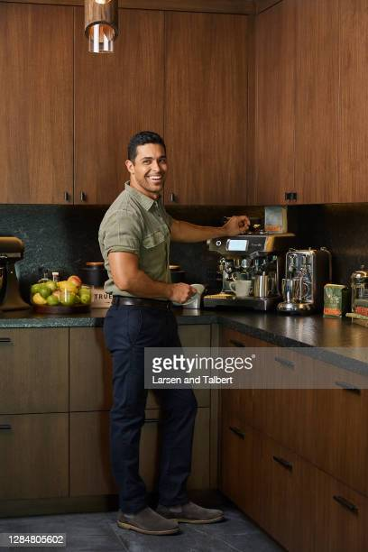 Actor Wilmer Valderrama is photographed for People Magazine on August 27, 2019 at home in Los Angeles, California. PUBLISHED IMAGE.
