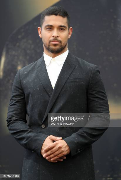 US actor Wilmer Valderrama poses during a photocall for the TV show NCIS as part of the 57th MonteCarlo Television Festival on June 19 2017 in Monaco...