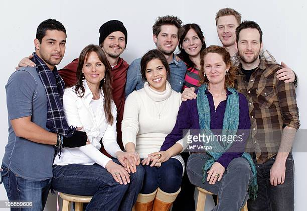 Actor Wilmer Valderrama producer Heather Rae actor Jason Ritter actress America Ferrera director Ryan Piers Williams actress Melissa Leo actress June...
