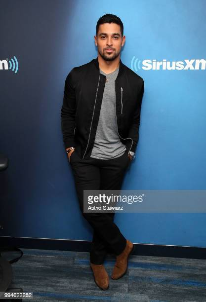 Actor Wilmer Valderrama visits the SiriusXM Studios on July 9 2018 in New York CityÊ