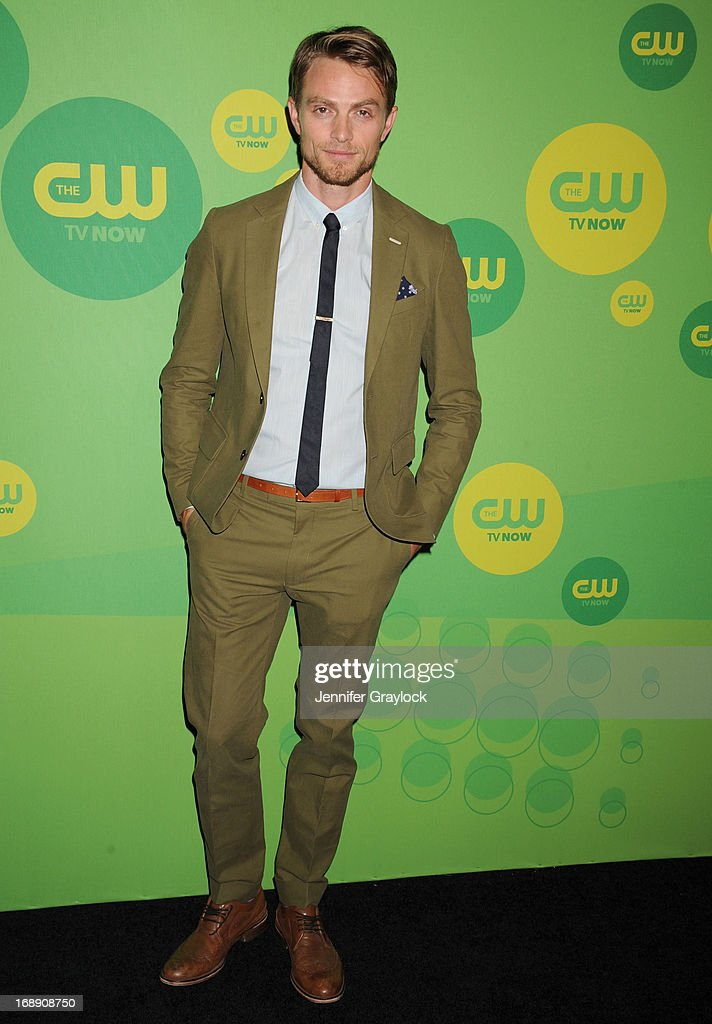Actor Wilson Bethel attends The CW Network's New York 2013 Upfront Presentation at The London Hotel on May 16, 2013 in New York City.