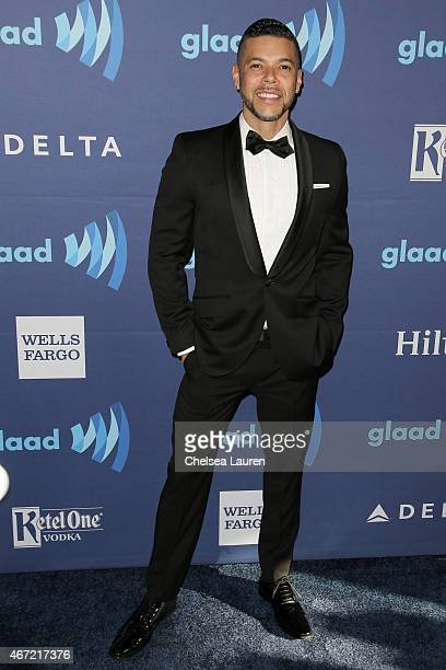 Actor Wilson Cruz arrives at the 26th annual GLAAD media awards at The Beverly Hilton Hotel on March 21 2015 in Beverly Hills California