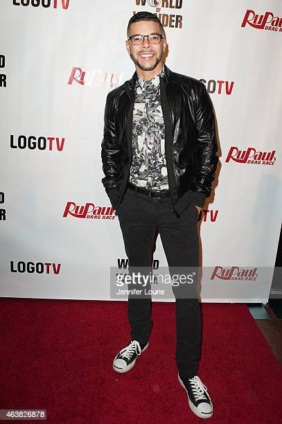 Actor Wilson Cruz arrives at the premiere of Logo TV's 'RuPaul's Drag Race' Season 7 at The Mayan on February 18 2015 in Los Angeles California