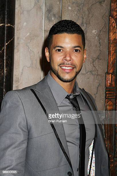 Actor Wilson Cruz arrives for the opening of 'CHICAGO' at the Pantages Theatre on April 21 2010 in Hollywood California