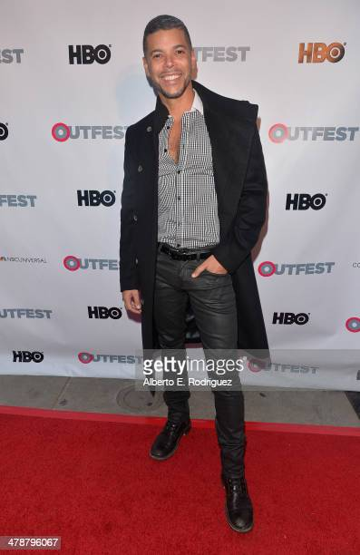 Actor Wilson Cruz arrives to the Outfest Fusion LGBT People of Color Film Fetival Opening Night Screening of 'Blackbird' at the Egyptian Theatre on...