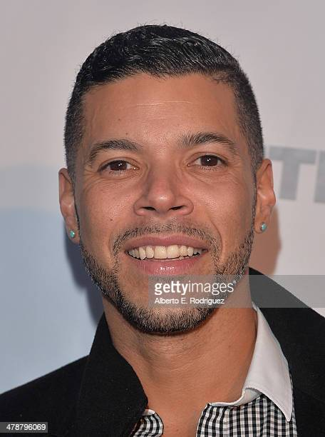 Actor Wilson Cruz arrives to the Outfest Fusion LGBT People of Color Film Fetival Opening Night Screening of Blackbird at the Egyptian Theatre on...