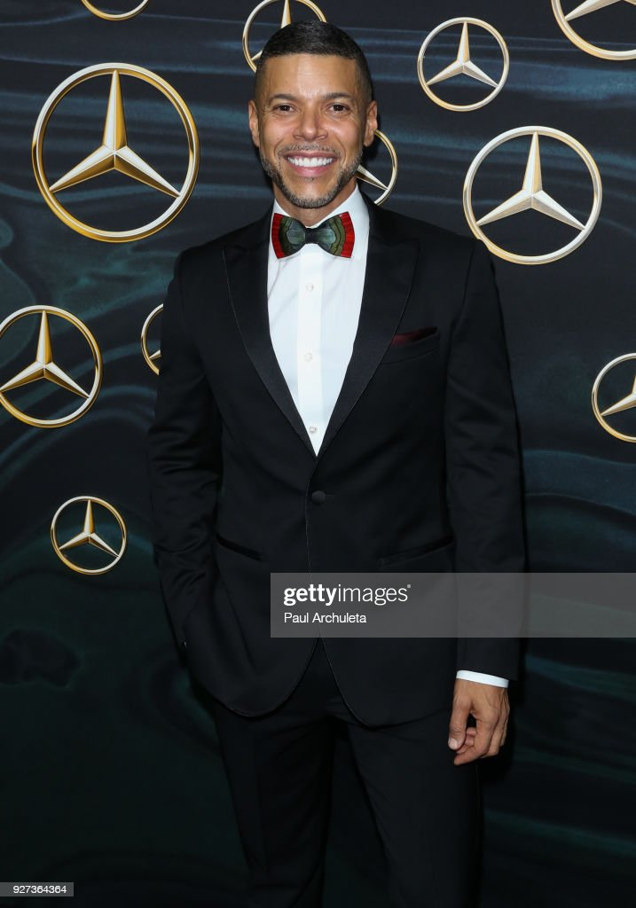 Actor Wilson Cruz attends Mercedez-Benz USA's official Awards viewing party at The Four Seasons Hotel Los Angeles at Beverly Hills on March 4, 2018 in Los Angeles, California.