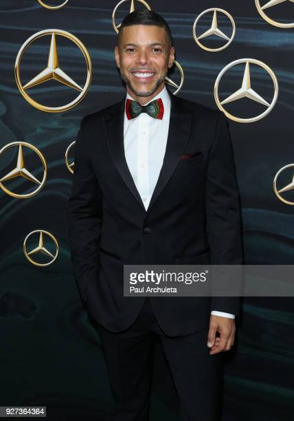 Actor Wilson Cruz attends MercedezBenz USA's official Awards viewing party at The Four Seasons Hotel Los Angeles at Beverly Hills on March 4 2018 in...
