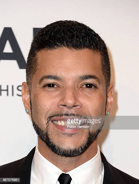 Actor Wilson Cruz attends the 2014 amfAR New York Gala at Cipriani Wall Street on February 5 2014 in New York City