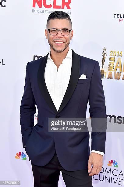 Actor Wilson Cruz attends the 2014 NCLR ALMA Awards at the Pasadena Civic Auditorium on October 10 2014 in Pasadena California