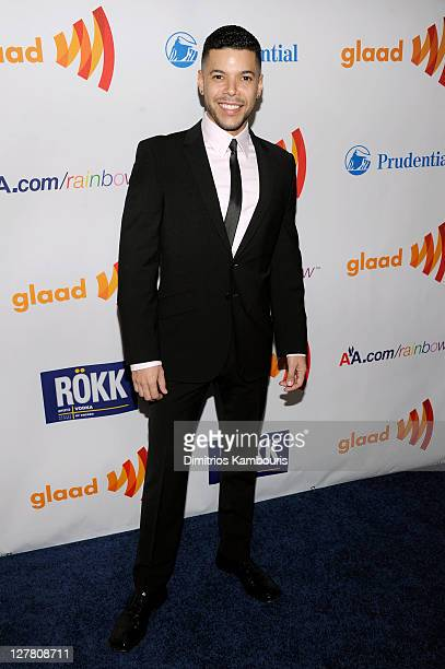 Actor Wilson Cruz attends the 22nd Annual GLAAD Media Awards presented by ROKK Vodka at Marriott Marquis Times Square on March 19 2011 in New York...