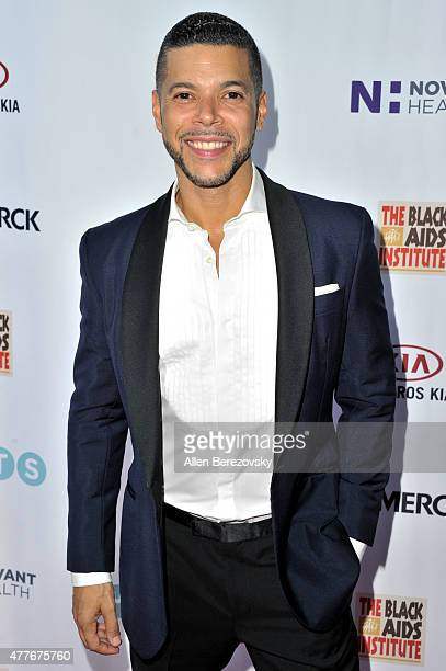 Actor Wilson Cruz attends the Black AIDS Institute 2015 Heroes in the Struggle Reception Gala and Awards Ceremony at Directors Guild Of America on...