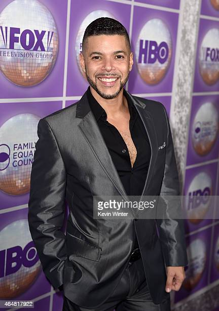 Actor Wilson Cruz attends the Family Equality Council's 2015 Los Angeles Awards dinner at The Beverly Hilton Hotel on February 28 2015 in Beverly...
