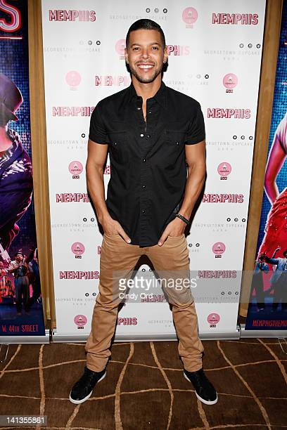 Actor Wilson Cruz attends the Memphis celebration of 1000 Broadway performances at 48 Lounge on March 14 2012 in New York City