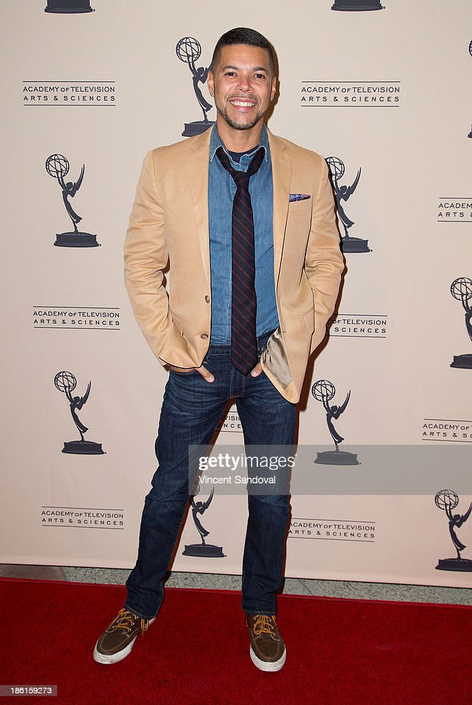 Actor Wilson Cruz attends The Prime Time Closet - A History of Gays and Lesbians on TV at Academy of Television Arts & Sciences on October 28, 2013 in North Hollywood, California.
