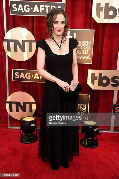 Actor Winona Ryder attends The 23rd Annual Screen Actors Guild Awards at The Shrine Auditorium on January 29 2017 in Los Angeles California 26592_011