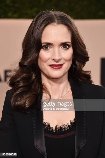 Actor Winona Ryder attends the 24th Annual Screen Actors Guild Awards at The Shrine Auditorium on January 21 2018 in Los Angeles California 27522_006