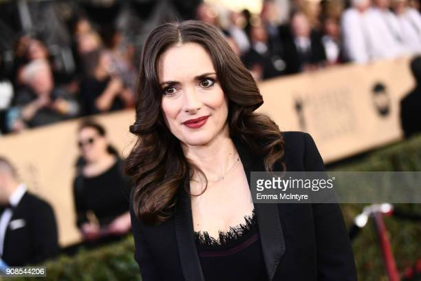Actor Winona Ryder attends the 24th Annual Screen Actors Guild Awards at The Shrine Auditorium on January 21 2018 in Los Angeles California 27522_011
