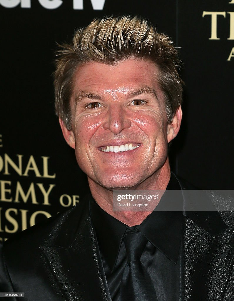 Actor Winsor Harmon attends the 41st Annual Daytime Emmy Awards at The Beverly Hilton Hotel on June 22, 2014 in Beverly Hills, California.