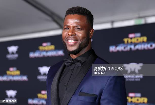 Actor Winston Duke at The World Premiere of Marvel Studios' Thor Ragnarok at the El Capitan Theatre on October 10 2017 in Hollywood California