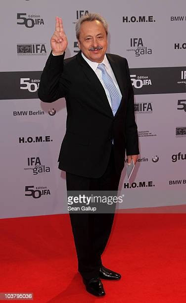 Actor Wolfgang Stumph attends the IFA Opening Ceremony at the Palais am Funkturm on September 2, 2010 in Berlin, Germany.