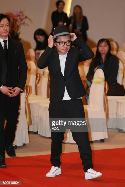 Actor Wong Cholam attends the memorial service for Hong Kong film and television producer Mona Fong on December 12 2017 in Hong Kong China