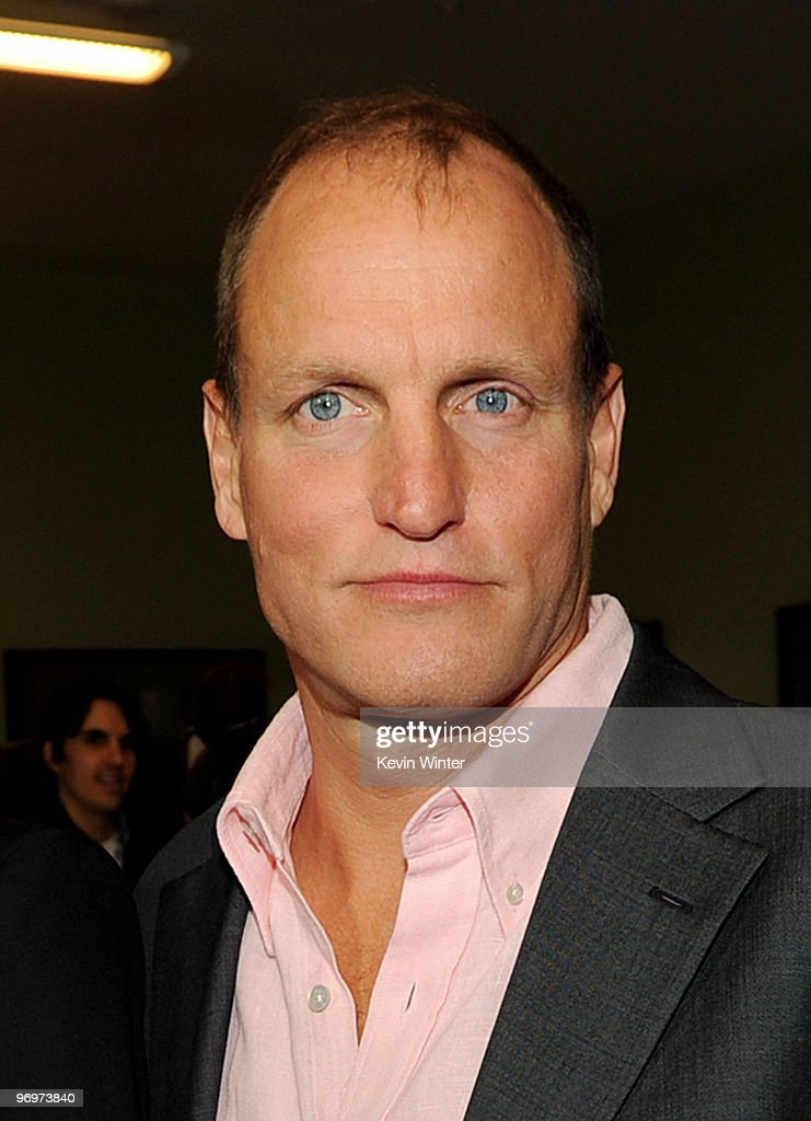 Actor Woody Harrelson arrives at the premiere of 'Defendor' at the Landmark Theater on February 22, 2010 in Los Angeles, California.