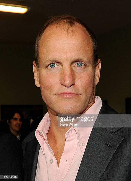 """Actor Woody Harrelson arrives at the premiere of """"Defendor"""" at the Landmark Theater on February 22, 2010 in Los Angeles, California."""