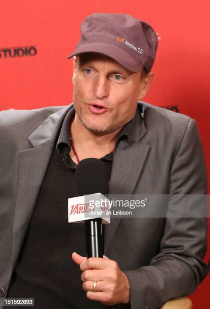 Actor Woody Harrelson at Variety Studio presented by Moroccanoil on Day 1 at Holt Renfrew, Toronto during the 2012 Toronto International Film...
