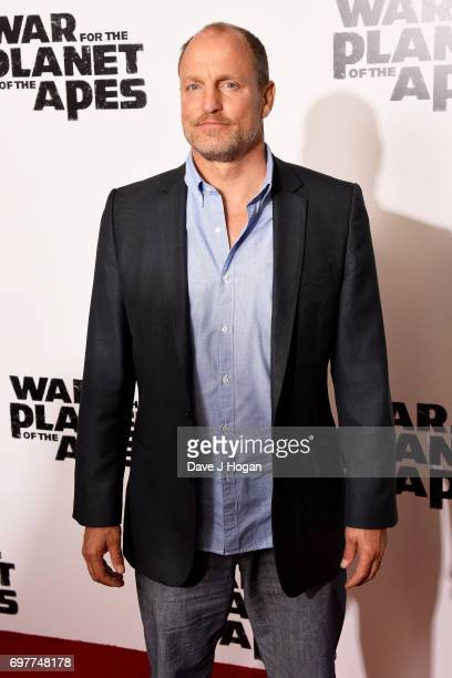 Actor Woody Harrelson attends a screening of 'War For The Planet Of The Apes' at The Ham Yard Hotel on June 19 2017 in London England